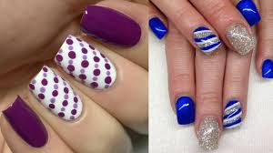 Girly Nail Designs For Short Nails Easy Fall Nail Ideas Beginners Easy Nail Art Designs For Short Nails For Creative Beginners
