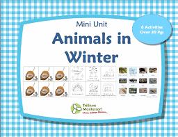 Animals-in-Winter-Printables-Pack - Montessori Nature