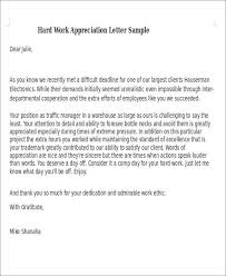 Boyfriend Thank You Letter Sample Best 48 Appreciation Letter Samples PDF Word Pages Google Docs