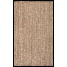 elijah seagrass with border black 10 x 14 area rug