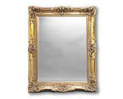 mirror and frame design view portrait