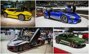 Of The Wildest Rides Of The Geneva Auto Show