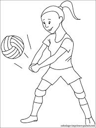 Volleyball Color Pages Volleyball Color Pages Under Fontanacountryinn Com