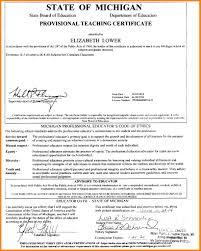 7 Certification On Resume Letter Adress
