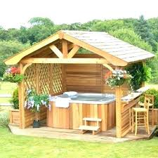 hot tub enclosure ideas hot tub enclosures ideas surround plans gazebos surrounds for enclosure hot hot tub enclosure