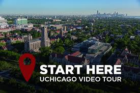 international students college admissions the university of uchicago video tour title and image of campus