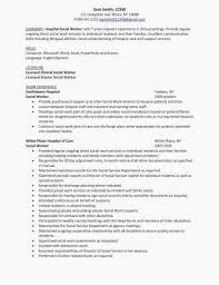 Resume For Social Worker Lovely Unique Examples Resumes Ecologist