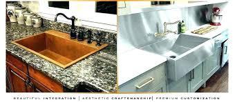 kitchen sinks for granite countertops drop in sinks for granite drop in sink with granite installing