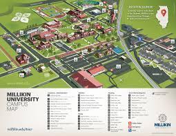 campus maps  millikin university