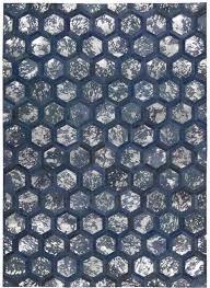 michael amini city chic handmade cobalt contemporary area rug
