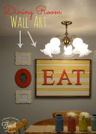 diy dining room wall art. Poppy Seed Projects: Guest Post - DIY Dining Room Wall Art Tutorial {with Frames And Letters} Diy Pinterest