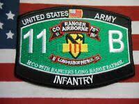 e2819 US Army Vietnam Airborne Ranger tab 75 Inf H Co ERDL 1st ...