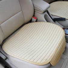 winter universal front car seat cover velvet breathable keep warm cushion anti skid pad protector mat whole car seat cover for baby car seat cover for