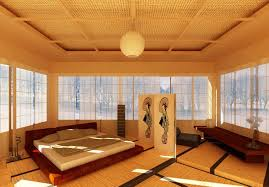 Japanese Style Bedroom In Japanese Style