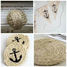 I'm Taryn from Design, Dining + Diapers , and I'm here today to share some DIY  Nautical Decor Ideas. Some people like to use nautical decor only ...