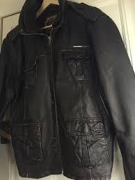 superdry brad leather jacket brown winter beckham mens superdry brown superdry coats warm