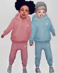 uni toddler jogger set for the sims 4