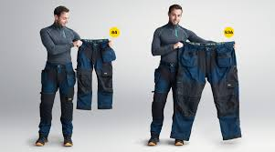 Snickers Trousers Size Chart Measure Right For A Good Fit Snickers Workwear