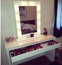 makeup vanity lighting ideas. Beauty Vanity Mirror Bedroom Makeup With Lights Lighting Ideas Design Awesome