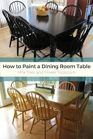 diy paint kitchen table black. how to paint a dining room table black diy kitchen u