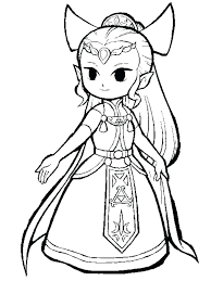 Link Coloring Pages Photo Zelda Colouring Qnrfsubmission