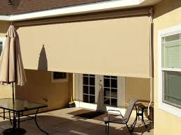 exterior drop shade