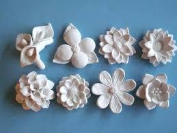 3d ceramic flower wall art fl pink white decor home flowers metal ceramic flowers wall art