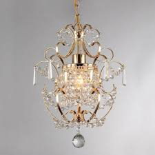 gorgeous zara gold crystal chandelier wrought iron provincial style 1 light new