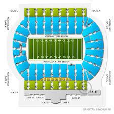 Michigan State Vs Rutgers Tickets Ticketcity