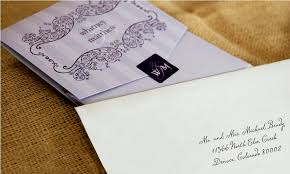 Envelope Wedding Addressing Wedding Envelopes