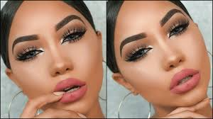my go to makeup look simple glam you
