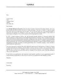 Resume Cover Letter Word Template