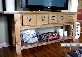 How To Build A Tv Console