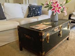 cool vintage trunk coffee table with trunk coffee table painted pine shab chic french square storm