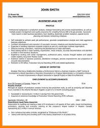 10 Business Analyst Resume Summary Examples Free Ride Cycles
