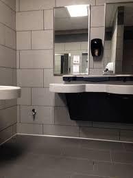 Daltile Bathroom Tile Eclectic Full Bathroom With Vessel Sink Daltile Concrete