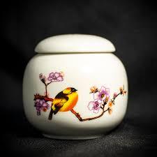 Чайница <b>Птицы</b> 220 мл. (Фарфор)