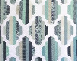 Modern quilt | Etsy & Modern Quilt Pattern, PDF Instant Download, Garden Lattice Quilt Pattern in  two sizes, Adamdwight.com