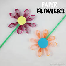 Paper Flower Craft The Joy Of Sharing