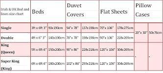 king size sheet duvet cover measurements throughout in cm bedspread uk