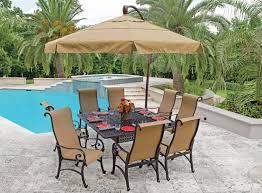 patio dining sets with umbrella EVA Furniture
