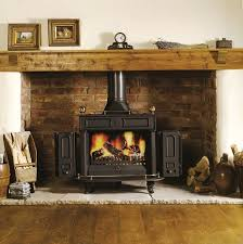 Wood Stove Living Room Design Brick Fireplace Ideas For Wood Burning Stoves Fireplace