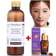 Dimollaure 30g pure Kojic Acid whitening cream+Snail ... - Qoo10