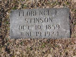 "Florence Lenora ""Florena, Flora"" Jones Stinson (1859-1924) - Find ..."