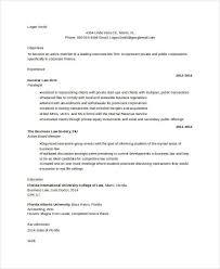 10 Attorney Resume Templates Pdf Doc Free Premium