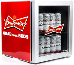 Cool Drink Fridge Buy Husky El202 Budweiser Drinks Cooler Red Free Delivery Currys