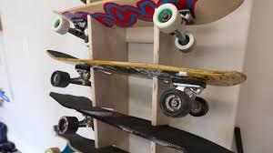 Skateboard Rack Frame