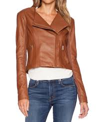 brooze women biker leather jackets2