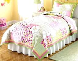 pink and green bedding sets twin bedding sets girl quilts little girls quilt fl pink and