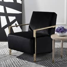 safavieh orna glam black accent chair free today com 25476464
